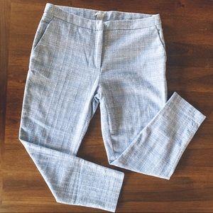 H&M Cotton Blend Dress Pants Ankle Length Size 10